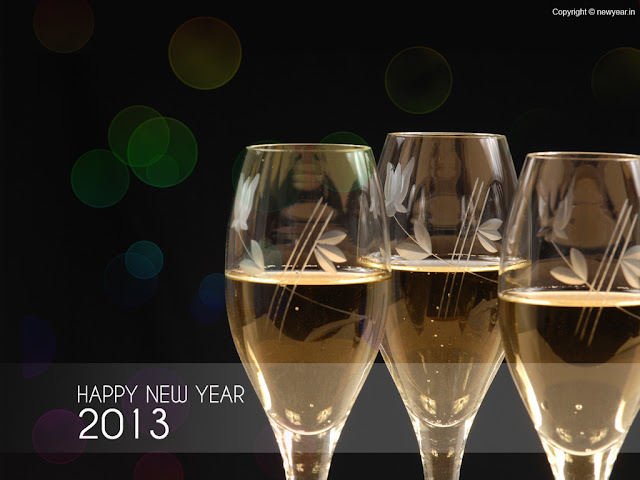 Happy New Year 2013 HD Wallpaper
