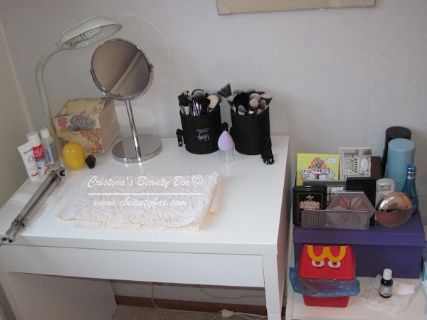 Make up Storage Idea {How I Store My Make up}