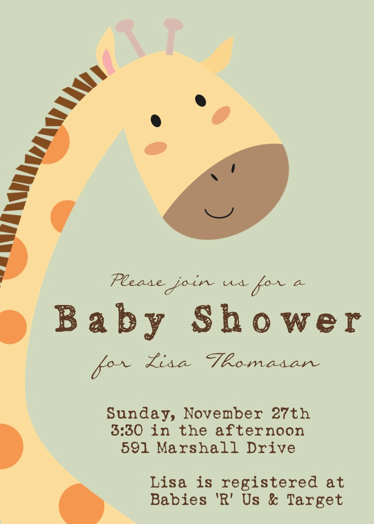 need a baby shower invitation i have printable baby shower invitation