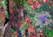 Imágen satelital de la ciudad de Córdoba, Prov. de Córdoba, Argentina