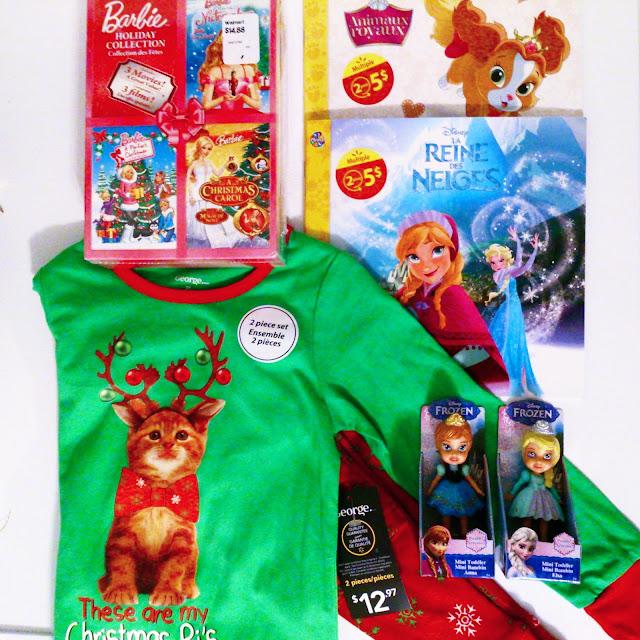 La boîte de l'avant-veille de Noël de Mini Radieuse édition 2015 à petit prix grâce à Walmart