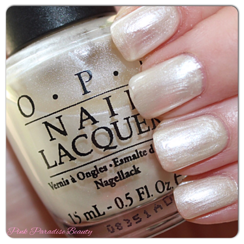 O.P.I Collection and Swatches - Whites and Pinks | Pink Paradise Beauty