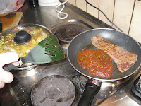 Cooking horse meat in Germany