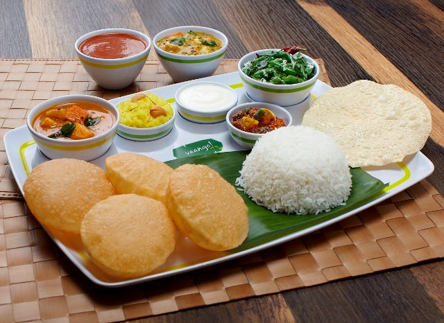 South Indian Vegetarian dining