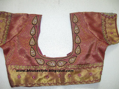 SOUTH INDIAN WEDDING BLOUSE