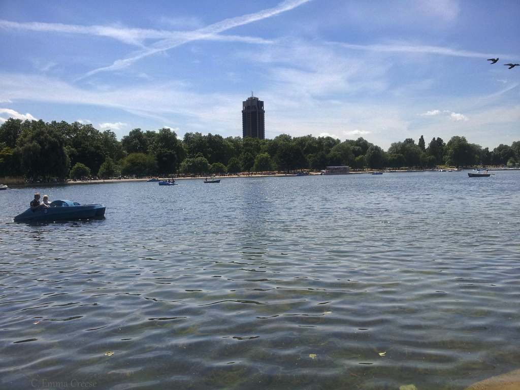 How to keep cool in London this summer Hyde Park Serpentine