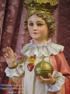 Noviembre - Niño Jesús de Praga - Templo Santa Marta