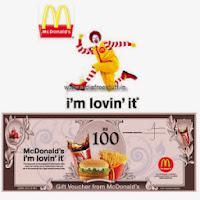 McDonald's voucher India