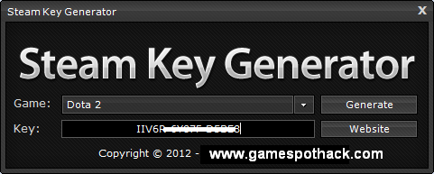 Steam Key Generator (Steam Keygen)