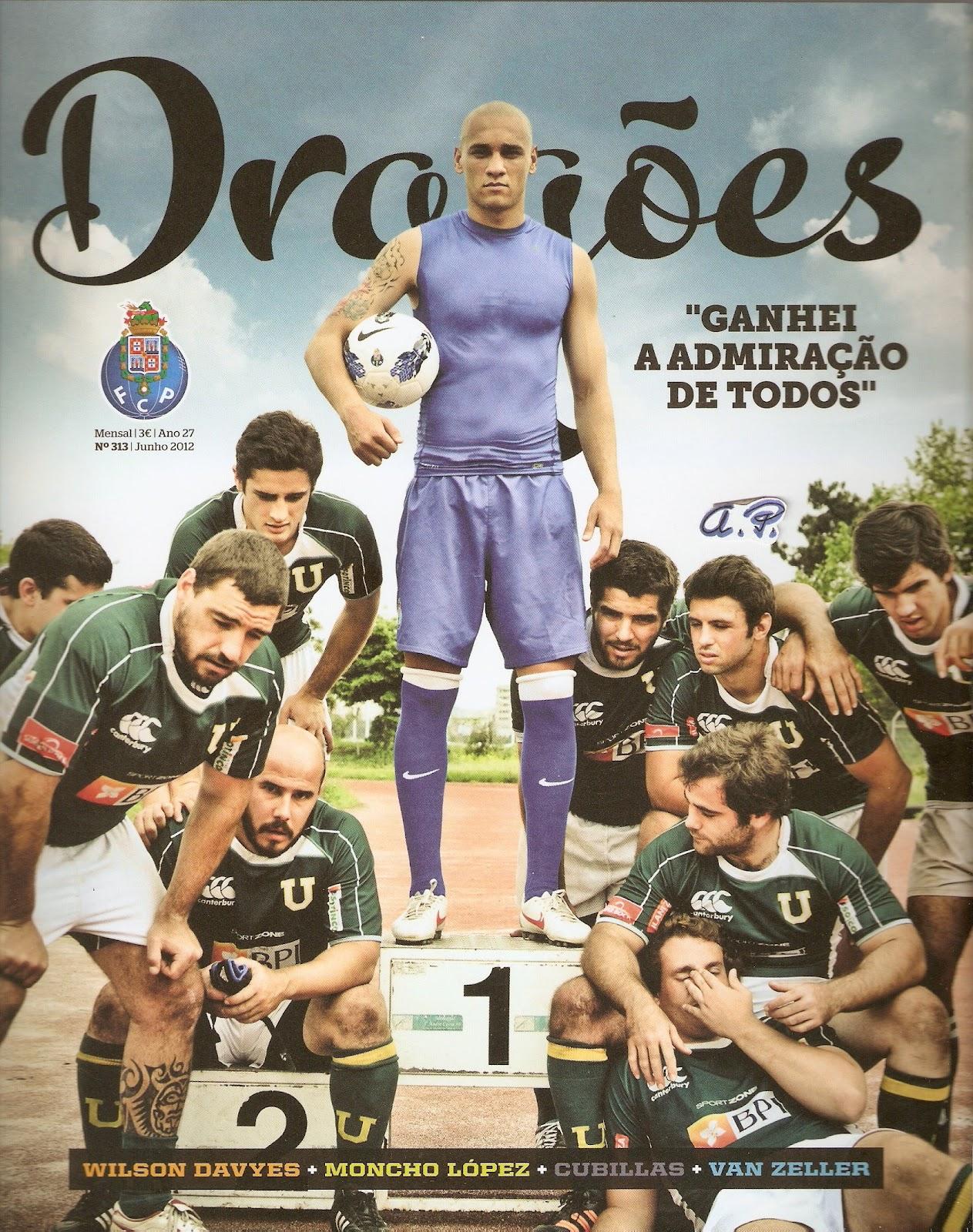 Dragões Para Sempre Classy memória portista: revista dragões - edição de junho 2012