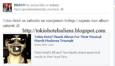 """Bravo """"Facebook"""" - Felicidades Tokio Hotel!!! TH's+Aliens+%232"""