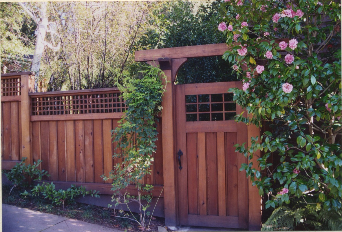 Macgregor Construction Craftsman Gate And Fence