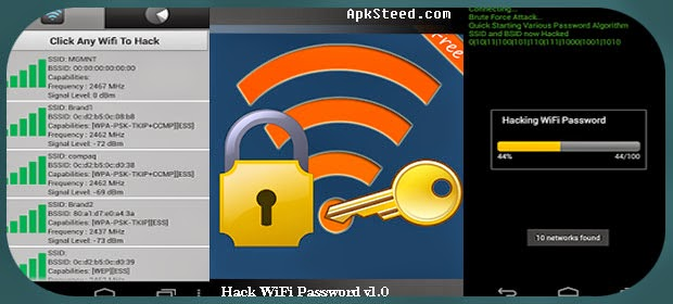 Is there any android app to hack wifi password? - Quora