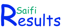 ResultsSaifi - University Board Exam Results 2013 Answer Key