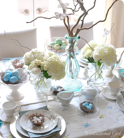 Spring Tablescapes Gorgeous With Easter Table Setting Picture
