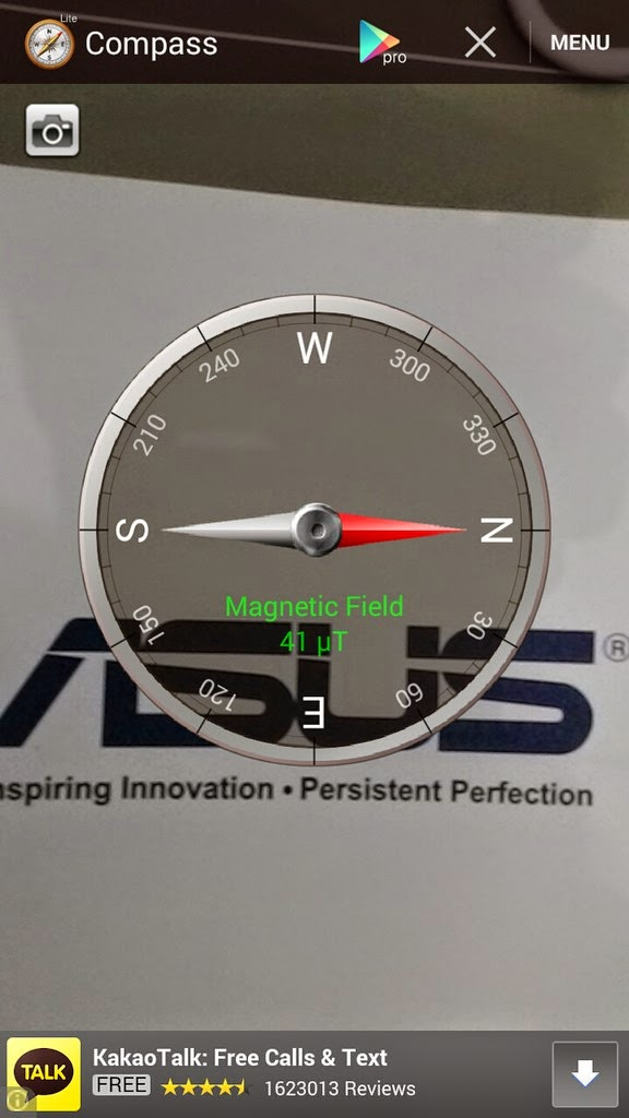 Zenfone 5 Test: GPS, Compass, 3D benchmark, Battery life