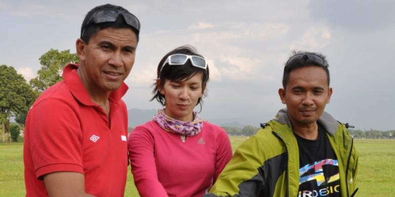 Elisa Manueke Peringkat Dua Ronde 4 Paralayang