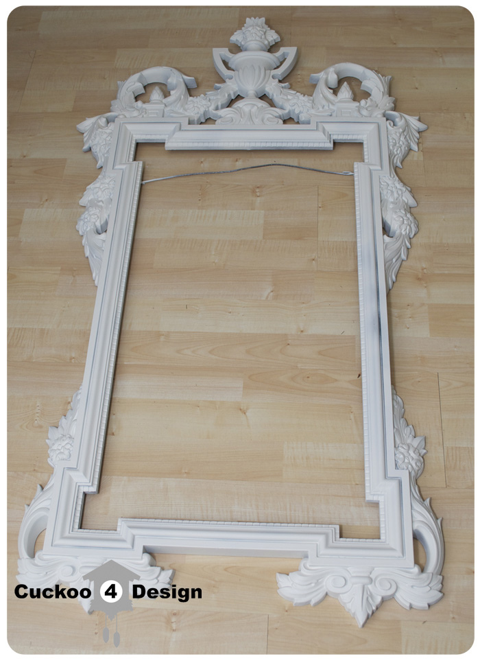 mirror frame primed with kilz primer. Black Bedroom Furniture Sets. Home Design Ideas