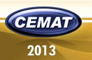 CEMAT CONCURSOS 2013 INSCRIÇÕES