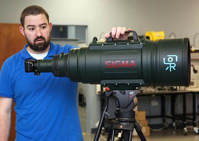 Fotografia della Canon EOS-M con il Sigma 200-500 F/2.8 EX DG