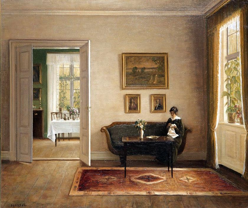 The Country Corner Carl Vilhelm Holsoe