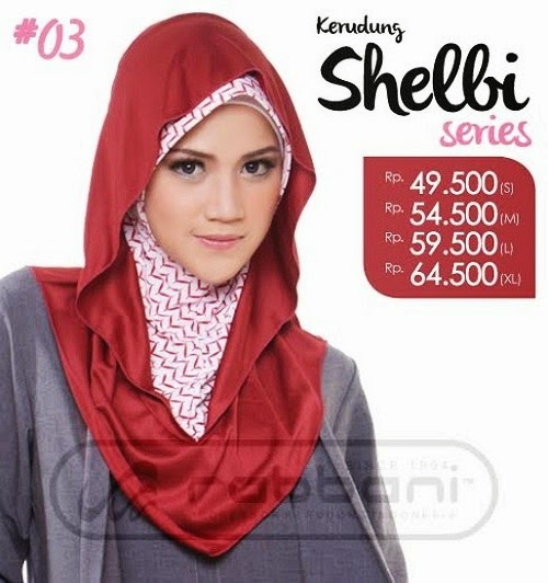 Koleksi Model Hijab Modern Rabbani 2015: Shelbi.