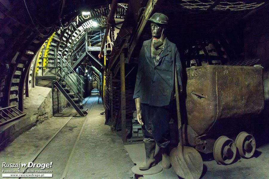 Podziemna trasa turystyczna w Kopalni GUIDO w Zabrzu