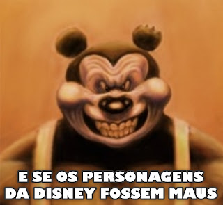 E se os personagens da Disney fossem maus