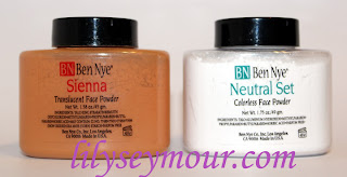 Ben Nye Setting Powders in Sienna and Netural Set