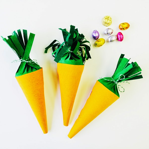 Carrot Top Treat Cones | Jessie Sense for Shop Sweet Lulu