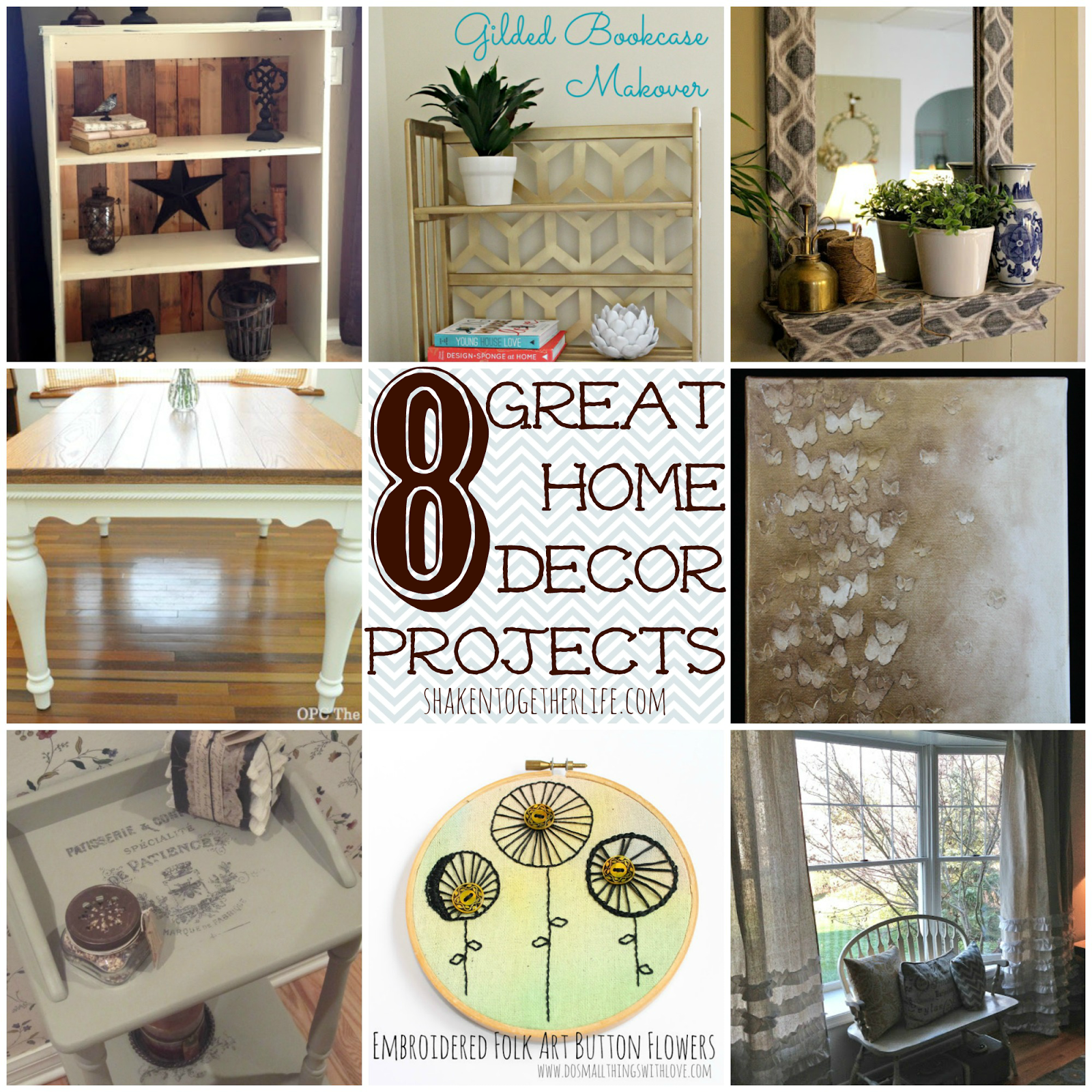 8 great home decor projects diy features from the what for Great decor