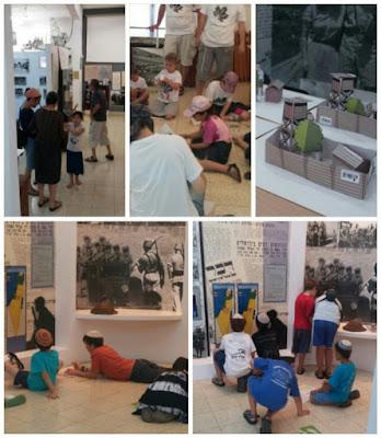 פעילות קיץ, ילדים, מוזיאון חניתה, קיץ, חלוצי