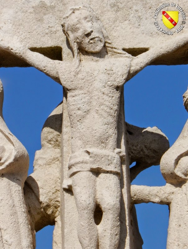 RAINVILLE (88) - Croix-calvaire du cimetière
