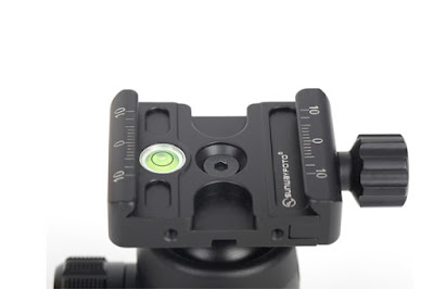 Sunwayfoto FB-28 - DDC-37 QR Clamp detail