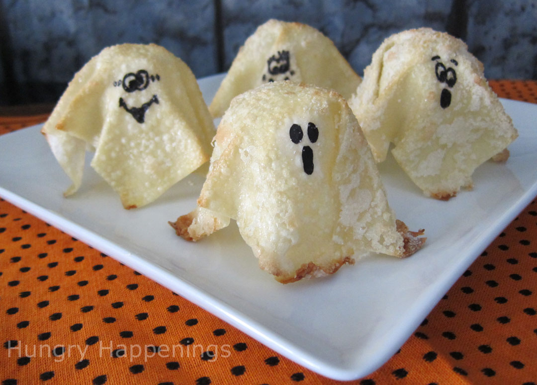 Quick and Quirky Sweet Treat for Halloween - Sweet Ghost Crisps ...
