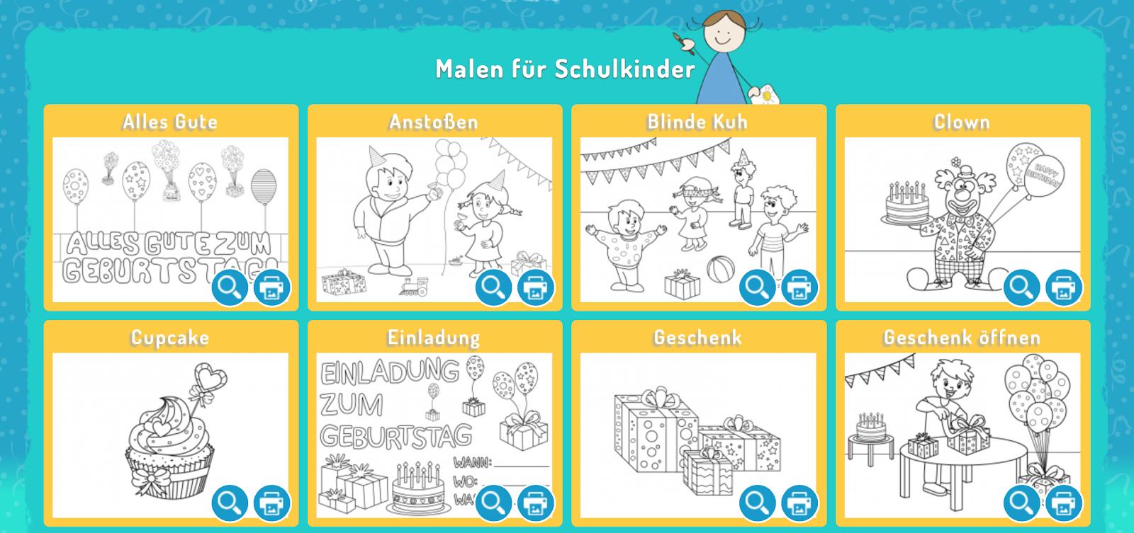 Lustige Ausmalbilder Kostenlos - Ausmalbilder gratis für Kinder Window Color Vorlagen zum