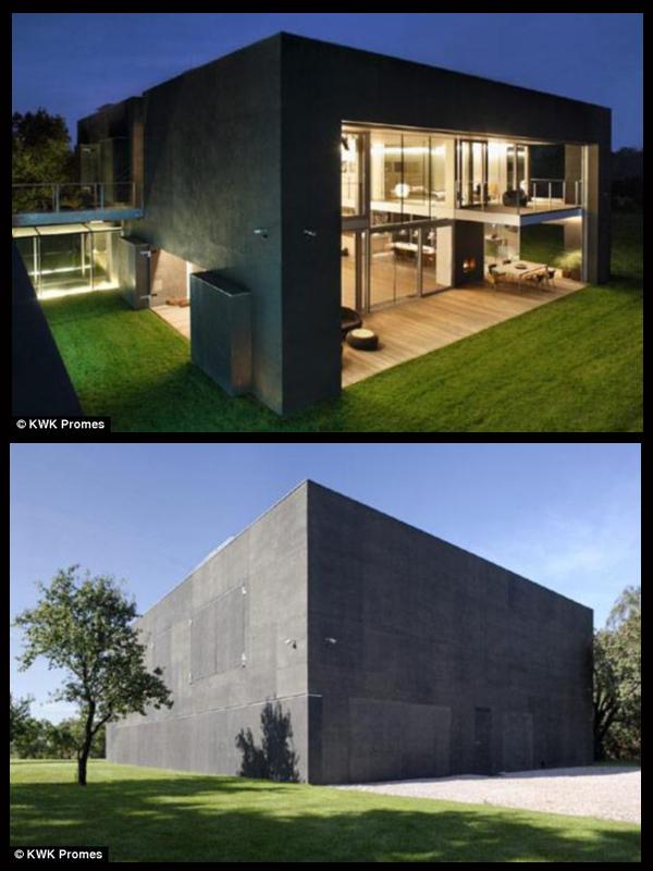 Casa bunker casas for Casa correo