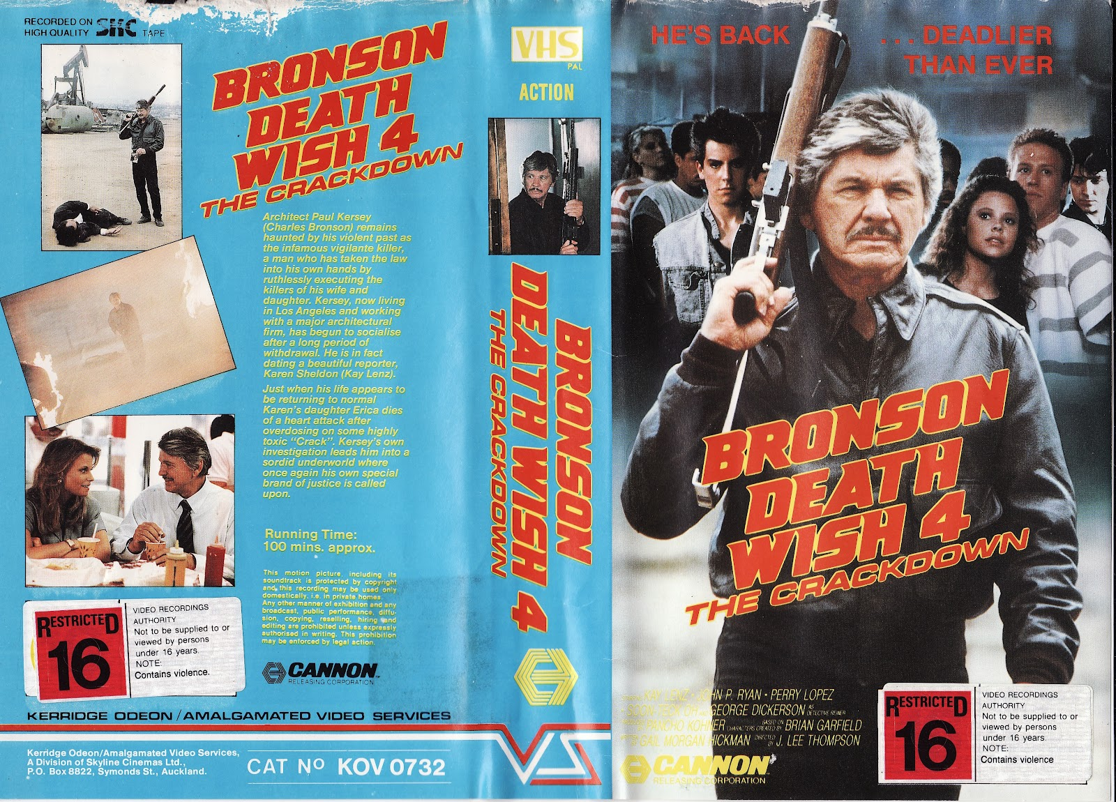 Bronson Death Wish 4 of 87 11 Death Wish 4