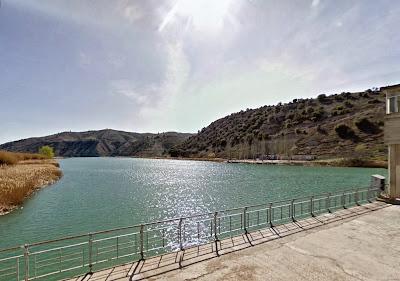 Zona de la presa de Almoguera