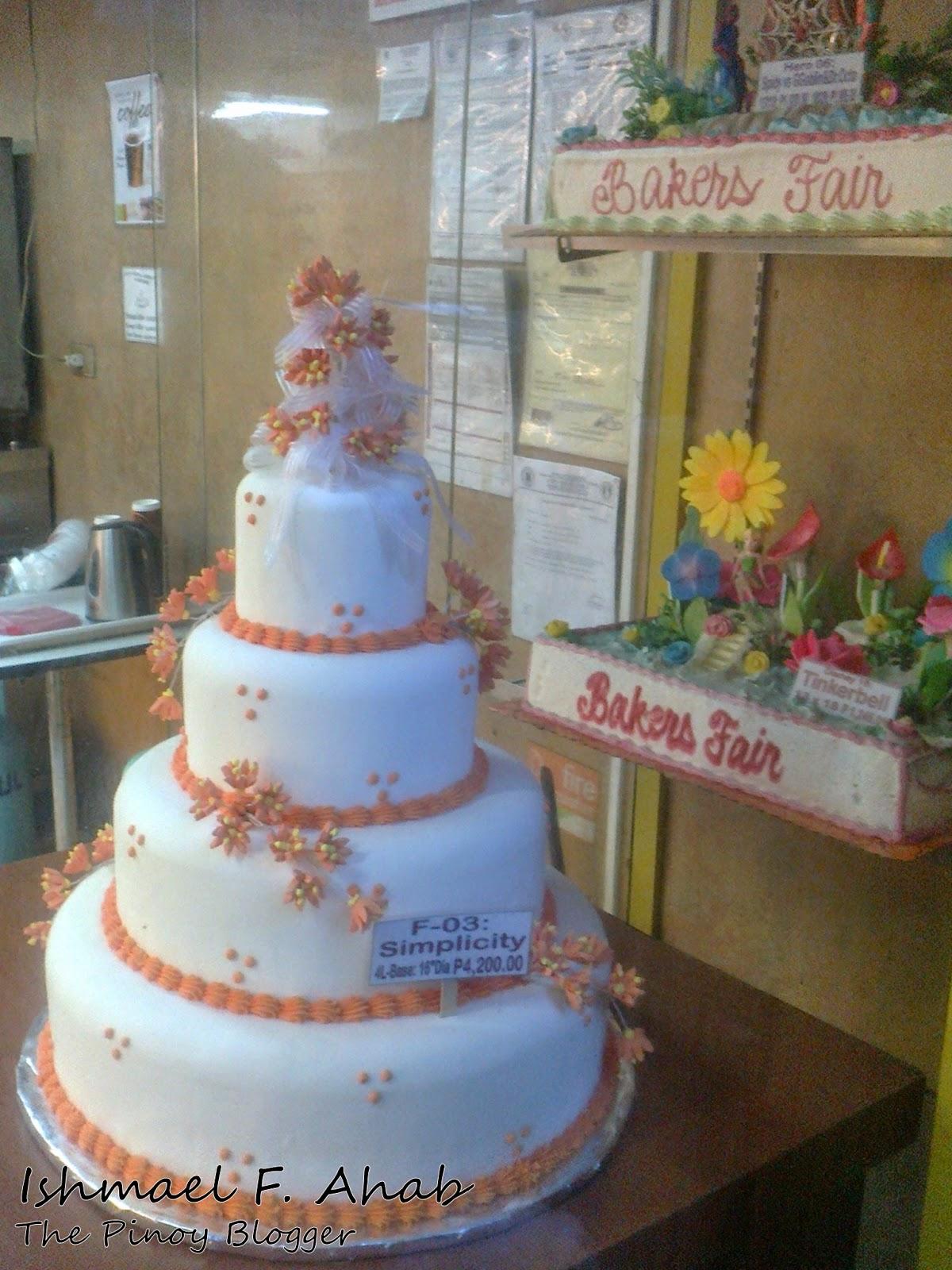 Bakers Fair Cake