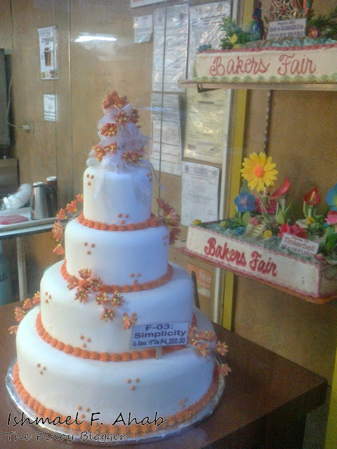 Wedding cake by Bakers' Fair