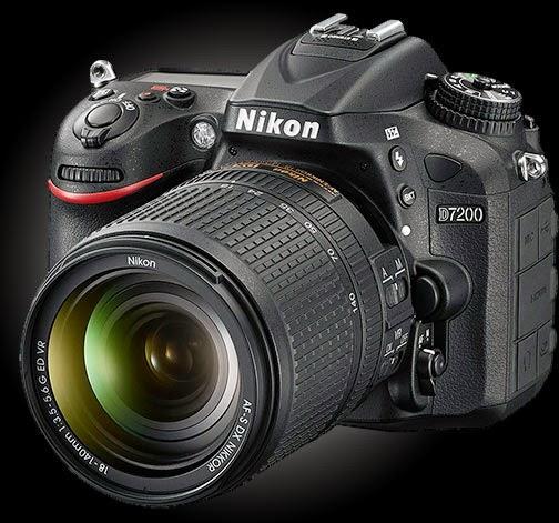 Spesifikasi dan Harga DSLR Nikon D7200