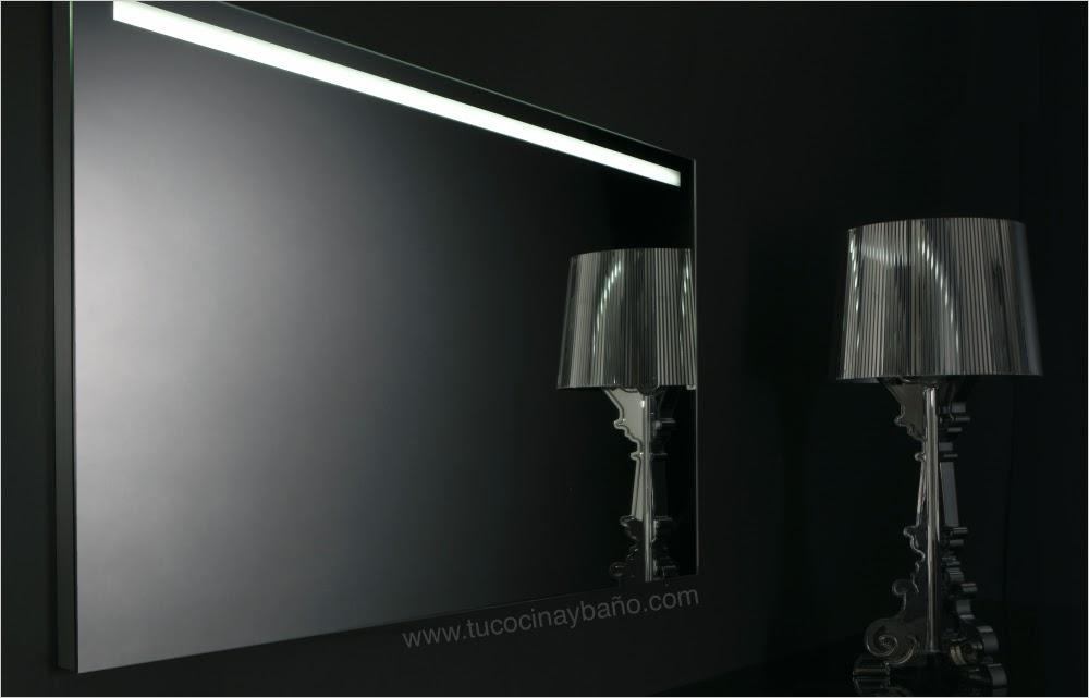 espejo baño luz iluminacion precio