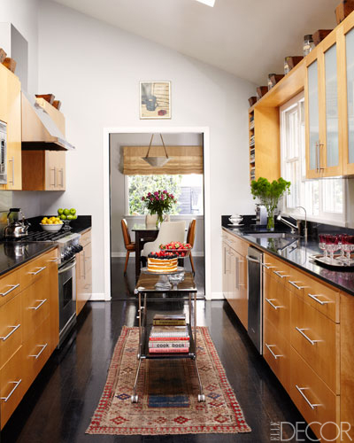 Bungalow sage rugs in kitchen pretty or practical - Elle decor kitchens ...