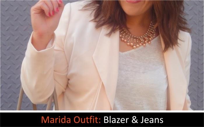 Marida Outfit: Blazer & Jeans