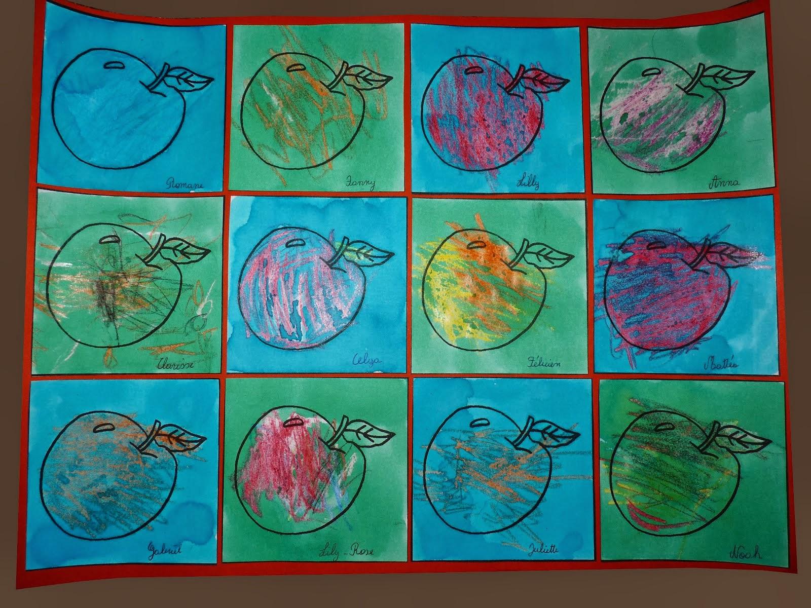 La classe de Sof: Techniques de peinture en maternelle.