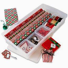 Organizing Gift Wrap :: OrganizingMadeFun.com