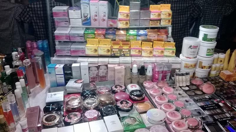 Thị trường mỹ phẩm hiện nay rất đa dạng