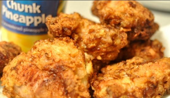 Pineapple Fried Chicken Recipe