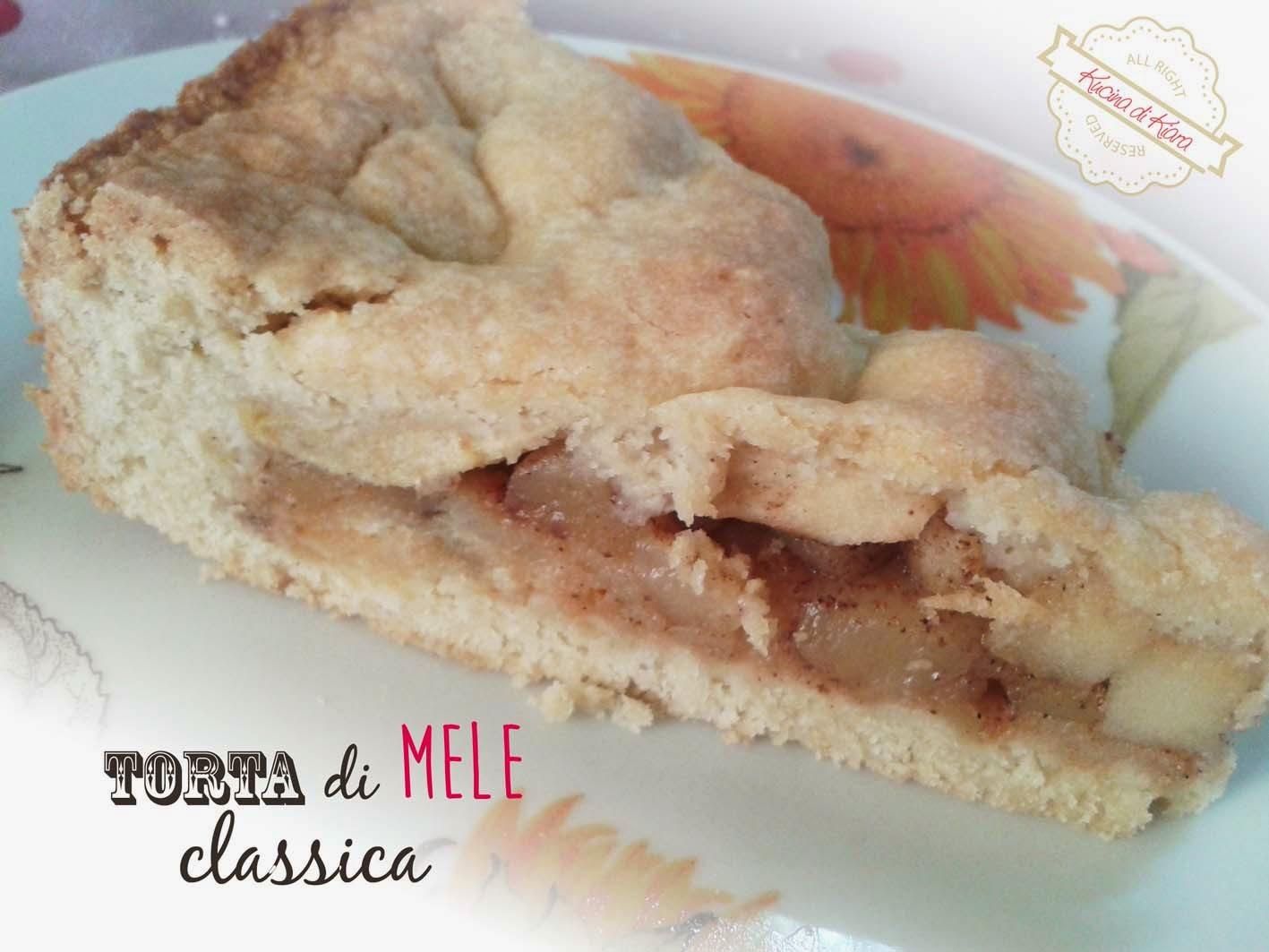Ricetta torta di mele knam